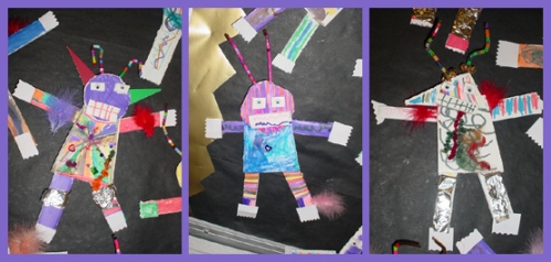 ScrapHeads created by the kids in Poolesville