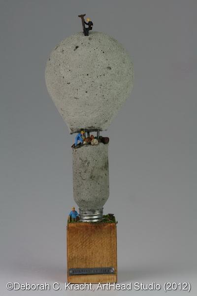 Building An Idea (©Deborah C. Kracht, ArtHead Studio 2012)