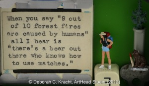 reTweet (©Deborah C. Kracht, ArtHead Studio 2012)