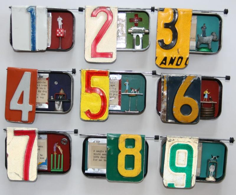 Counting reTweets (©Deborah C. Kracht, ArtHead Studio 2012)