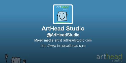 ArtHead on Twitter