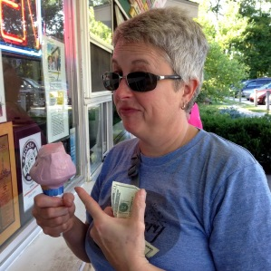Deb loves ice cream