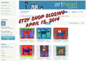 ArtHead Studio Etsy Store