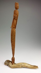 ArtHead Carving, Whittle Mermaid 2005
